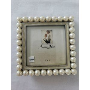 Ashleigh Manor Picture Frame 3 x 3 South Sea Pearl
